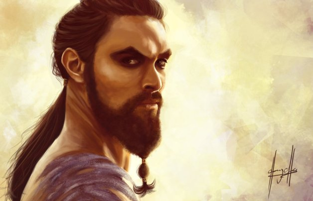 Game of Thrones: Khal Drogo by ~charychu on deviantART